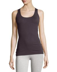 Wolford | Purple Pure Seamless Tank Top | Lyst
