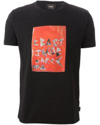 Marc Jacobs - Black Printed T-Shirt for Men - Lyst