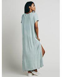 Free People - Blue Marrakesh Dress - Lyst