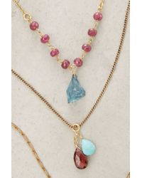 Anthropologie - Petronille Layered Necklace - Lyst