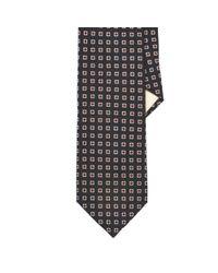 Polo Ralph Lauren | Black Neat Wool Challis Tie for Men | Lyst