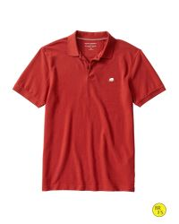 8d948ccfe59f63 Lyst - Banana Republic Factory Elephant Logo Polo in Brown for Men