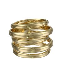 Alexis Bittar | Metallic Layered Ring | Lyst