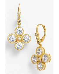Freida Rothman - Metallic 'femme' Drop Earrings - Lyst
