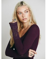 Free People | Purple Womens Lovely Lady Cuff | Lyst