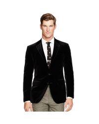 173ffed69 Polo Ralph Lauren Polo Velvet Sport Coat in Black for Men - Lyst