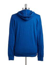 Lucky Brand - Blue Lightweight Henley Sweatshirt for Men - Lyst