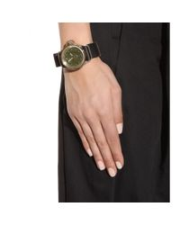 Givenchy - Green Seventeen Stainless Steel Watch - Lyst