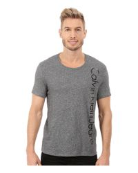 Calvin Klein Jeans | Gray Edi Logo Tee for Men | Lyst