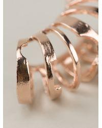 Bjorg - Pink Bric A Brac Ear Cuff - Lyst