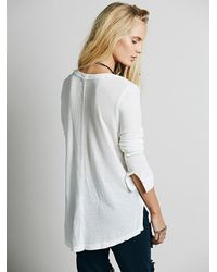 Free People - White We The Free Womens We The Free Every Girl Henley - Lyst