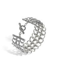 John Hardy - Metallic Classic Chain Round Link Wide Bracelet - Lyst