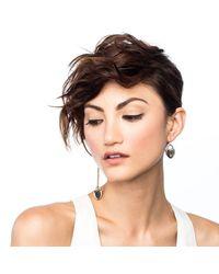 Lulu Frost | Metallic Asymmetric Lock Earring | Lyst