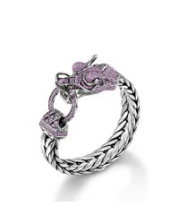 John Hardy | Pink Legends Naga Dragon Head Bracelet for Men | Lyst