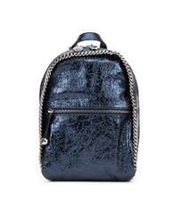 Stella McCartney | Blue 'Falabella' Backpack | Lyst
