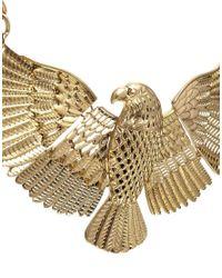 Sam Ubhi - Metallic Eagle Necklace - Lyst
