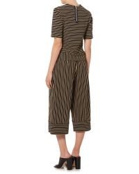 Therapy | Brown Stripe Culottes | Lyst
