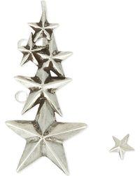 Pamela Love | Metallic Stardust Silver Ear Climber | Lyst