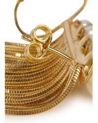 Ca&Lou - Metallic Inez 24Kt Gold Plated Fringed Earrings - Lyst