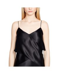 Ralph Lauren Black Label - Black Evelina Silk Slip Dress - Lyst