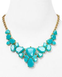 "kate spade new york - Blue Color Pop Necklace, 17"" - Lyst"