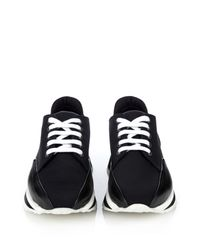 Pierre Hardy - Platform Sneakers With Leather - Black - Lyst