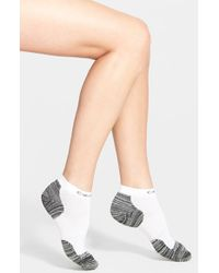 Calvin Klein | Black Padded Terry Running Ankle Socks | Lyst