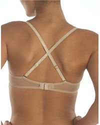 Natori | Natural Sheer Mesh Convertible Bra | Lyst