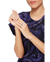 AS29 | Metallic Bamboo Xl Two Finger Ring | Lyst