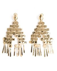 Aurelie Bidermann | Metallic 'marella' Dangling Earrings | Lyst
