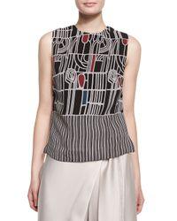 Maiyet - Multicolor Batik Side-button Shell Top - Lyst