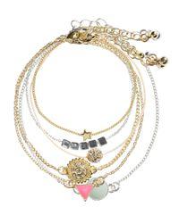 H&M | Metallic 6-pack Bracelets | Lyst