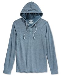 American Rag | Blue Men's Autumn Hoodie for Men | Lyst