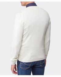 Vivienne Westwood - White Orb V-Neck Sweater for Men - Lyst