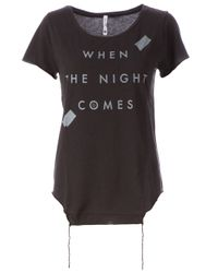 BLK OPM - Black When The Night Comes Tshirt - Lyst