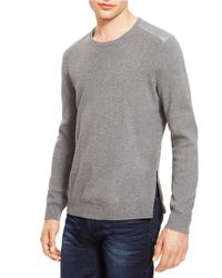 Kenneth Cole | Gray Crewneck Sweater for Men | Lyst