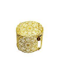 Julie Tuton Jewelry | Metallic Filigree Cuff | Lyst