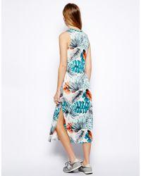 Brave Soul - Multicolor Hawaii Midi Dress - Lyst