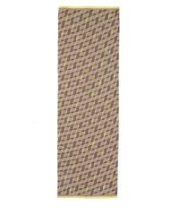 Paul Smith - Yellow Harlequin Silk-Blend Scarf - Lyst