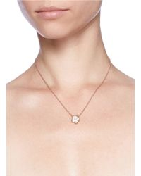 Shaun Leane - Metallic Cherry Blossom Pendant Diamond Necklace - Lyst
