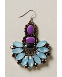 Anthropologie | Blue Rococo Candy Earrings | Lyst