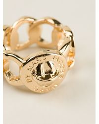 Marc By Marc Jacobs | Metallic Rolo Chain Ring | Lyst