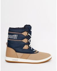 Le Coq Sportif | Blue Sainteglace Snow Boots for Men | Lyst