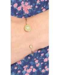 Tai - Multicolor Letter Open Cuff Bracelet - Lyst