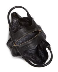 Diane von Furstenberg   Black Voyage Slouchy Shoulder Bag   Lyst
