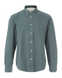 Acne Studios - Light Green Button Down Shirt for Men - Lyst
