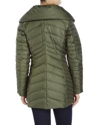 Marc New York | Green Kirby Chevron Down Jacket | Lyst