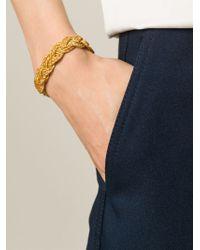 Aurelie Bidermann   Metallic 'miki Dora' Bracelet   Lyst