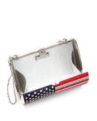 Judith Leiber - Multicolor American Flag Archive Austrian Crystal Minaudiere - Lyst