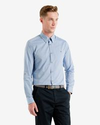 Ted Baker - Blue Elsu Spot Shirt for Men - Lyst